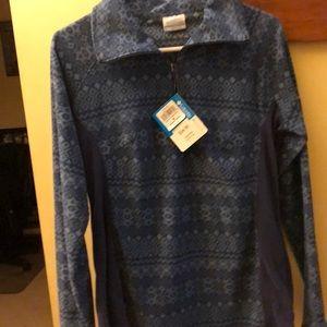 Brand new Columbia fleece quarter zip